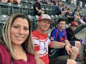Daniel Lewis attended Colorado Rockies vs. Milwaukee Brewers - MLB on Jun 18th 2021 via VetTix