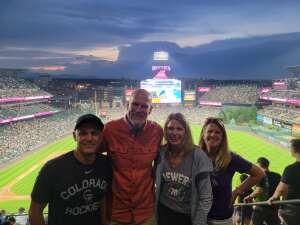 Jim attended Colorado Rockies vs. Milwaukee Brewers - MLB on Jun 18th 2021 via VetTix