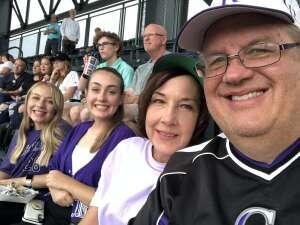 Andrew attended Colorado Rockies vs. Milwaukee Brewers - MLB on Jun 18th 2021 via VetTix
