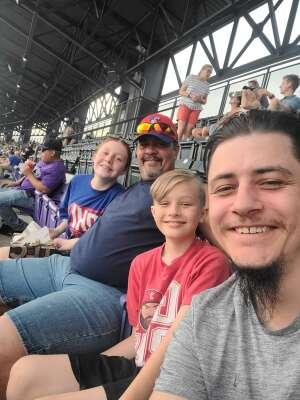 Elizabeth attended Colorado Rockies vs. Milwaukee Brewers - MLB on Jun 18th 2021 via VetTix