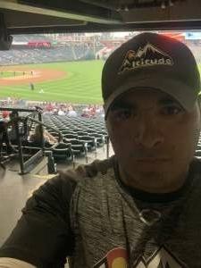 Juan attended Colorado Rockies vs. Milwaukee Brewers - MLB on Jun 18th 2021 via VetTix