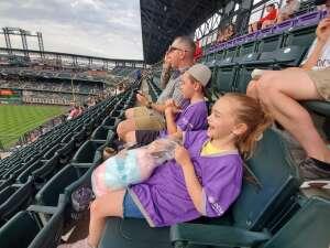 Clay attended Colorado Rockies vs. Milwaukee Brewers - MLB on Jun 18th 2021 via VetTix