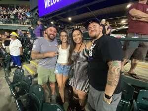 Adam attended Colorado Rockies vs. Milwaukee Brewers - MLB on Jun 18th 2021 via VetTix