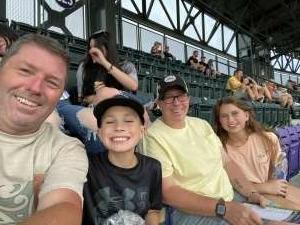 K Elson attended Colorado Rockies vs. Milwaukee Brewers - MLB on Jun 18th 2021 via VetTix