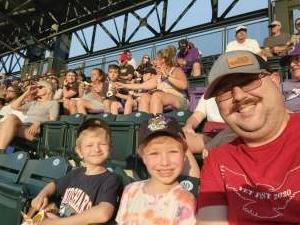 Geoff attended Colorado Rockies vs. Milwaukee Brewers - MLB on Jun 18th 2021 via VetTix