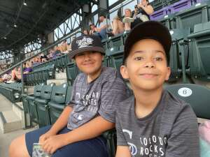 Rockies fans attended Colorado Rockies vs. Milwaukee Brewers - MLB on Jun 18th 2021 via VetTix