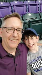 Matt attended Colorado Rockies vs. Milwaukee Brewers - MLB on Jun 18th 2021 via VetTix