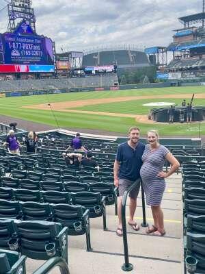 AF attended Colorado Rockies vs. Milwaukee Brewers - MLB on Jun 18th 2021 via VetTix