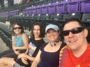 Laura attended Colorado Rockies vs. Milwaukee Brewers - MLB on Jun 18th 2021 via VetTix