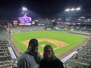 Happy Vet attended Colorado Rockies vs. Milwaukee Brewers - MLB on Jun 18th 2021 via VetTix