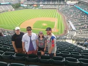 Andy attended Colorado Rockies vs. Milwaukee Brewers - MLB on Jun 18th 2021 via VetTix
