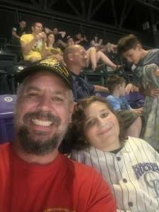 Jp attended Colorado Rockies vs. Milwaukee Brewers - MLB on Jun 18th 2021 via VetTix