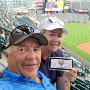 Bill attended Colorado Rockies vs. Milwaukee Brewers - MLB on Jun 18th 2021 via VetTix