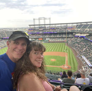Bronc attended Colorado Rockies vs. Milwaukee Brewers - MLB on Jun 18th 2021 via VetTix