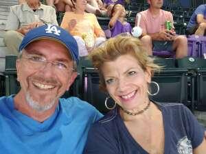 Pat attended Colorado Rockies vs. Milwaukee Brewers - MLB on Jun 18th 2021 via VetTix