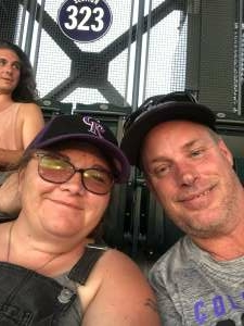 Wayne McGee attended Colorado Rockies vs. Milwaukee Brewers - MLB on Jun 18th 2021 via VetTix