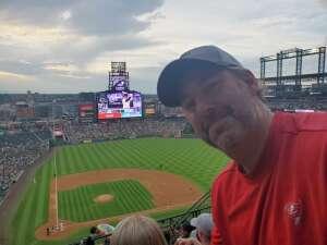 Ben Moe attended Colorado Rockies vs. Milwaukee Brewers - MLB on Jun 18th 2021 via VetTix