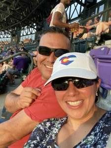 Lilian Rodriguez attended Colorado Rockies vs. Milwaukee Brewers - MLB on Jun 18th 2021 via VetTix