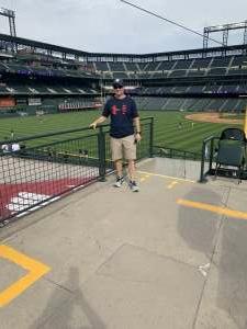 Dan attended Colorado Rockies vs. Milwaukee Brewers - MLB on Jun 18th 2021 via VetTix