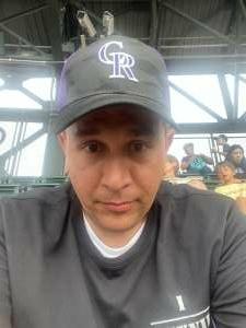 John attended Colorado Rockies vs. Milwaukee Brewers - MLB on Jun 18th 2021 via VetTix