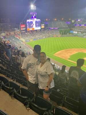 Brandon attended Colorado Rockies vs. Milwaukee Brewers - MLB on Jun 18th 2021 via VetTix