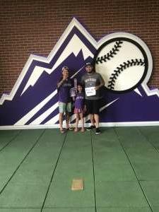 Dom attended Colorado Rockies vs. Milwaukee Brewers - MLB on Jun 18th 2021 via VetTix