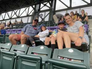 Hiett attended Colorado Rockies vs. Milwaukee Brewers - MLB on Jun 18th 2021 via VetTix