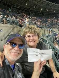 Greg attended Colorado Rockies vs. Milwaukee Brewers - MLB on Jun 18th 2021 via VetTix