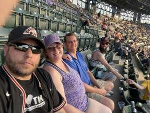 Austin attended Colorado Rockies vs. San Diego Padres - MLB on Jun 14th 2021 via VetTix