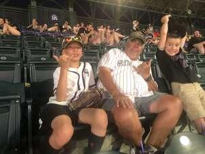 Matt T attended Colorado Rockies vs. San Diego Padres - MLB on Jun 14th 2021 via VetTix