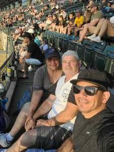 Pete T. attended Colorado Rockies vs. San Diego Padres - MLB on Jun 14th 2021 via VetTix