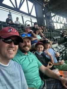 Jake F.  attended Colorado Rockies vs. San Diego Padres - MLB on Jun 14th 2021 via VetTix