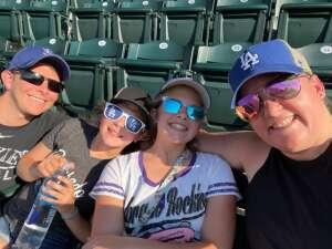 Stephanie attended Colorado Rockies vs. San Diego Padres - MLB on Jun 14th 2021 via VetTix