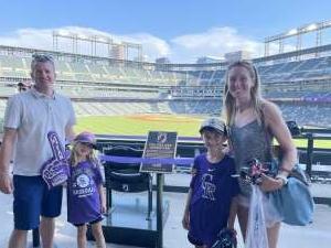 Kevin attended Colorado Rockies vs. San Diego Padres - MLB on Jun 14th 2021 via VetTix