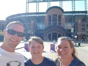 Matt M. attended Colorado Rockies vs. San Diego Padres - MLB on Jun 14th 2021 via VetTix