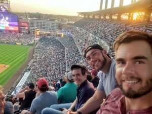Grant Irwin attended Colorado Rockies vs. San Diego Padres - MLB on Jun 14th 2021 via VetTix