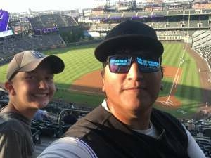 Greg attended Colorado Rockies vs. San Diego Padres - MLB on Jun 14th 2021 via VetTix