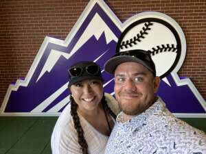 Adam attended Colorado Rockies vs. San Diego Padres - MLB on Jun 14th 2021 via VetTix