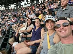 Taylor H. attended Colorado Rockies vs. San Diego Padres - MLB on Jun 14th 2021 via VetTix