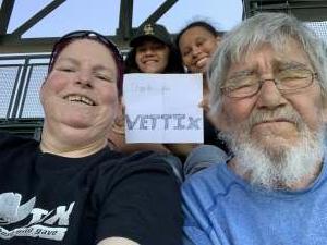 Myrtle Williams attended Colorado Rockies vs. San Diego Padres - MLB on Jun 14th 2021 via VetTix