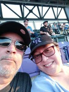 Rockies fan attended Colorado Rockies vs. San Diego Padres - MLB on Jun 14th 2021 via VetTix