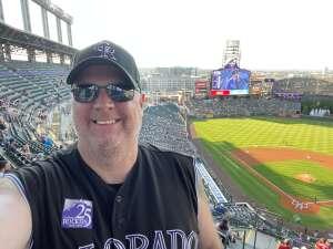 Jim Peterson attended Colorado Rockies vs. San Diego Padres - MLB on Jun 14th 2021 via VetTix