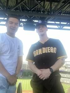 Joshua Gray attended Colorado Rockies vs. San Diego Padres - MLB on Jun 14th 2021 via VetTix