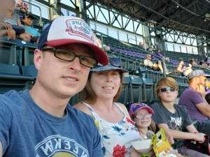 Drew L attended Colorado Rockies vs. San Diego Padres - MLB on Jun 14th 2021 via VetTix