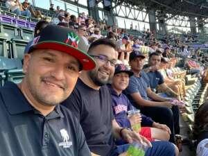 Elvin ortega attended Colorado Rockies vs. San Diego Padres - MLB on Jun 14th 2021 via VetTix