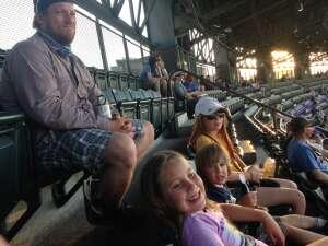 Steve attended Colorado Rockies vs. San Diego Padres - MLB on Jun 14th 2021 via VetTix