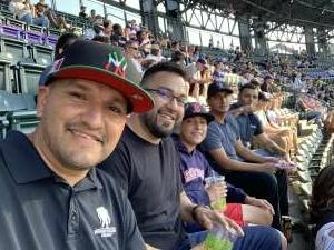 Gerardo Contreras  attended Colorado Rockies vs. San Diego Padres - MLB on Jun 14th 2021 via VetTix