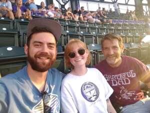 MSGTCALLAHAN attended Colorado Rockies vs. San Diego Padres - MLB on Jun 14th 2021 via VetTix