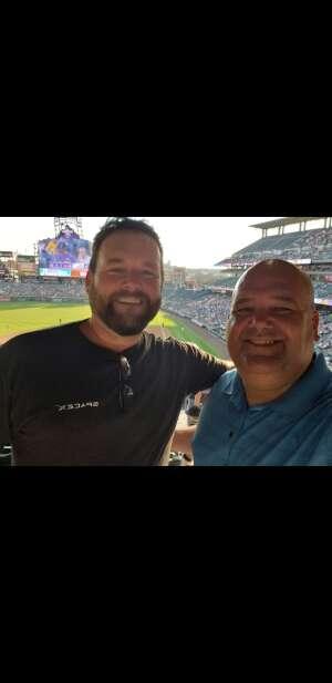 Greg B attended Colorado Rockies vs. San Diego Padres - MLB on Jun 14th 2021 via VetTix