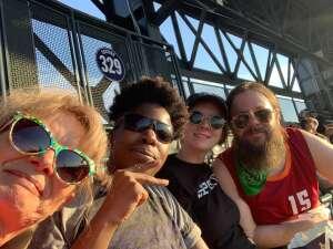 Donna attended Colorado Rockies vs. San Diego Padres - MLB on Jun 14th 2021 via VetTix